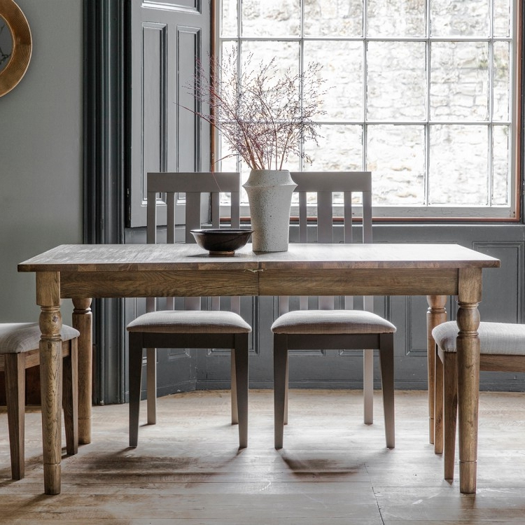 Latest Frank Hudson Gallery, Cookham Oak Extending Dining Table – Cfs Throughout Extending Rectangular Dining Tables (Gallery 3 of 20)
