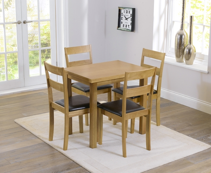 Latest Hastings 60Cm Extending Dining Table And Chairs For Cheap Oak Dining Sets (View 12 of 20)