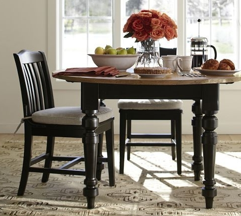 Latest I Love This Two Toned Dinning Table –keaton Round Fixed Dining For Artisanal Dining Tables (View 8 of 20)