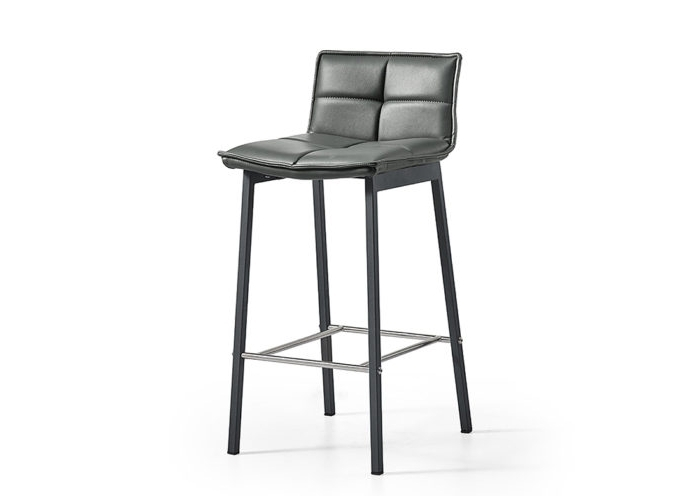 Latest Jaxon Grey Upholstered Side Chairs For Jaxon Barstool – Jar Furniture (View 12 of 20)