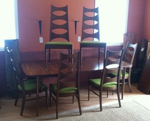Latest Kent Dining Chairs Intended For Mid Century Dining Setkent Coffey, Perspecta At Epoch (View 10 of 20)
