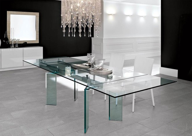 Latest Lazio Extending Glass Table – An Ideal Design For Young Families Regarding Lazio Dining Tables (View 7 of 20)