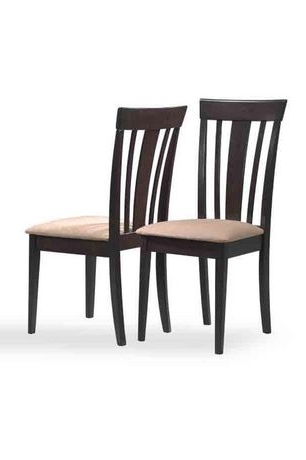 Latest Logan Side Chairs With Monarch Specialties Inc Monarch Specialities Logan Brown Solid Wood (Gallery 10 of 20)