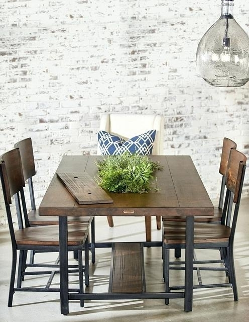Latest Magnolia Home Dining Table – Battenhall Throughout Magnolia Home Method Mesh Back Side Chairs (View 4 of 20)