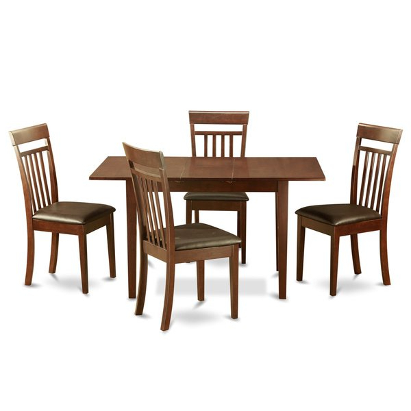 Latest Mahogany Dining Tables And 4 Chairs Throughout Mahogany Dining Room Table And 4 Dining Room Chairs Chairs 5 Piece (View 7 of 20)