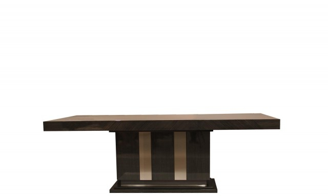 Latest Marbella  240Cm Oak High Gloss Dining Table – Fishpools With Marbella Dining Tables (View 8 of 20)