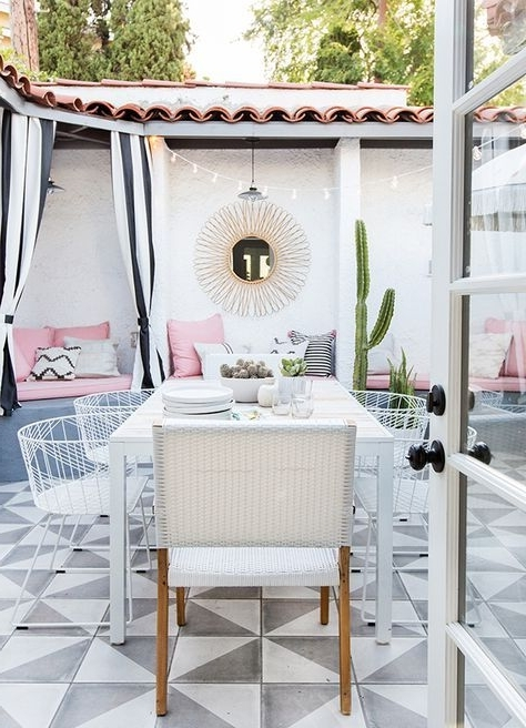 Latest Market Host Chairs Regarding A Millennial Pink Patio Is A Surefire Way To Become A Popular Host (View 7 of 20)