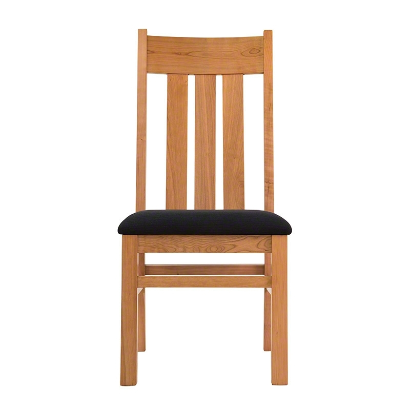Latest Modern Mission Dining Chair – Custom Chairsvermont Woods Studios Regarding Craftsman Upholstered Side Chairs (View 8 of 20)