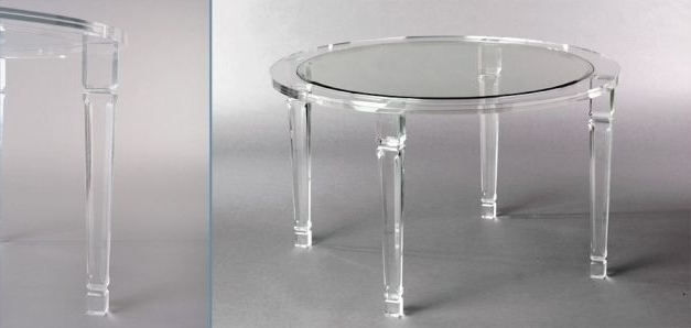 Latest New From Muniz Studio Modern Round Acrylic Dining Table (View 13 of 20)