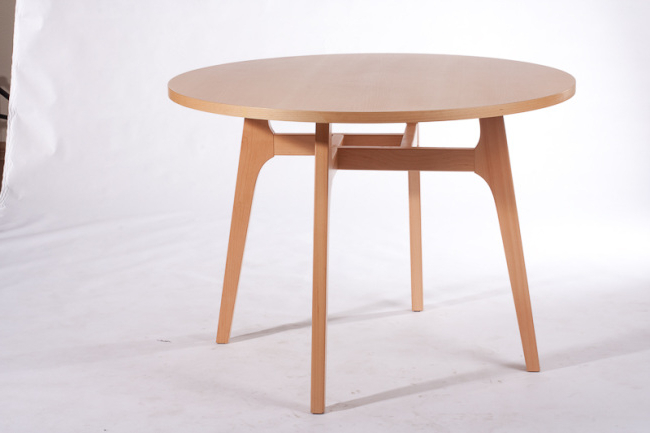 Latest Non Wood Dining Tables With Wood Moden Round Dining Tables For Dining Room Furnitures From China (View 12 of 20)