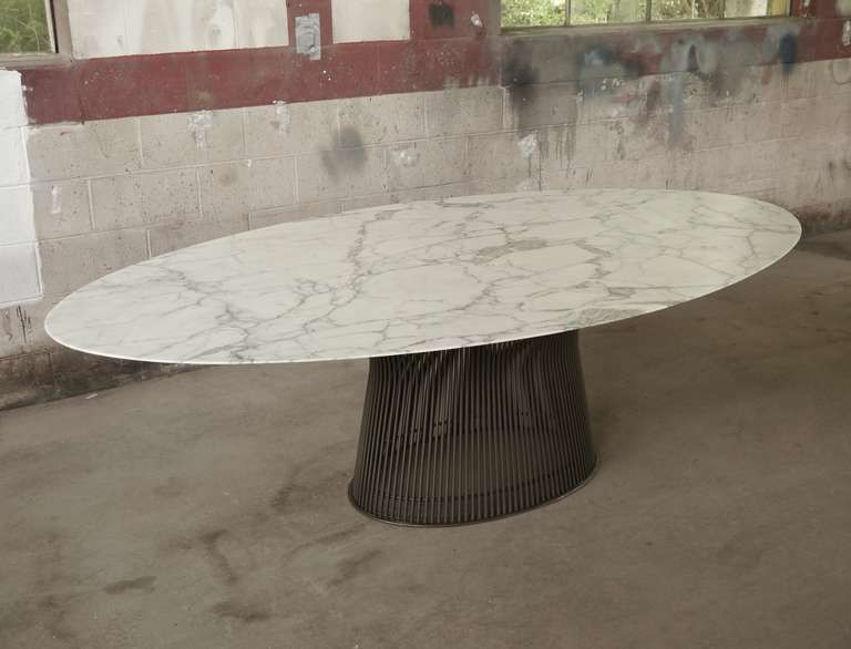 Latest Oval Dining Tables For Sale For Rare Oval Dining Tablewarren Platner (View 13 of 20)