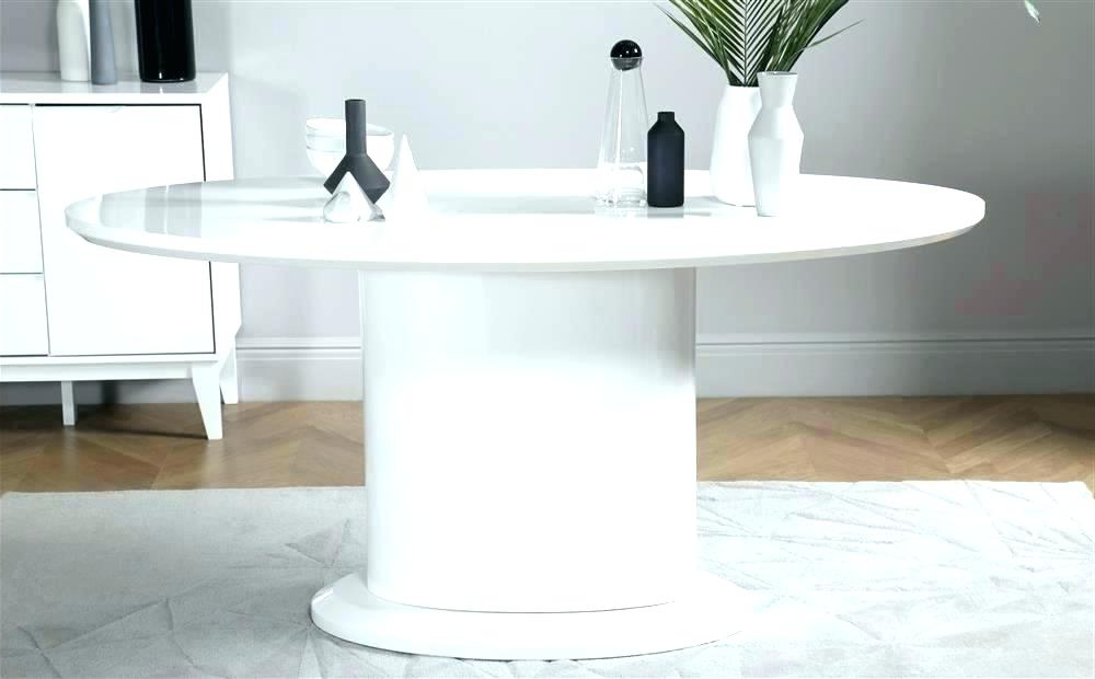 Latest Oval White High Gloss Dining Tables Inside Oval White Dining Table Tulip Table Oval Gloss White Oval Dining (Gallery 18 of 20)