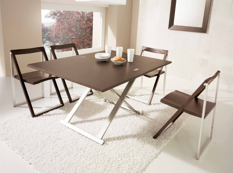 Latest Popular Folding Dining Table And Chairs (Gallery 6 of 20)