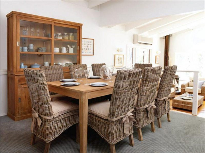 Latest Rattan Dining Tables And Chairs Pertaining To Dining Room Rattan Garden Dining Table And Chairs Rattan Kitchen (View 10 of 20)