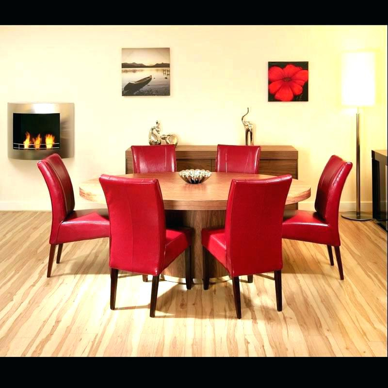 Latest Red Dining Table Sets Inside Red Dining Table Set – Kuchniauani (View 9 of 20)