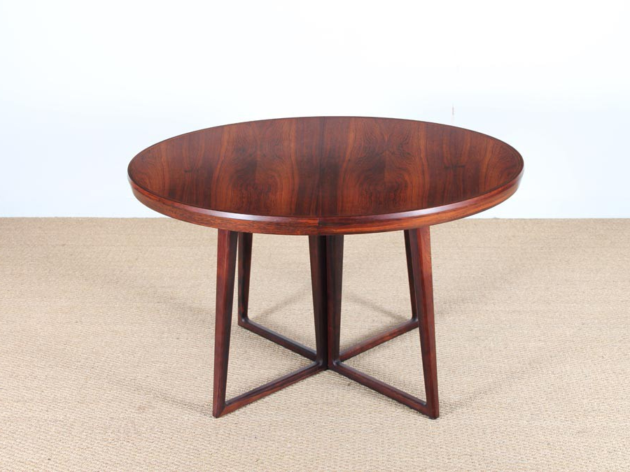 Latest Rio Dining Tables With Danish Mid Century Modern Dining Table In Rio Rosewood – Galerie Møbler (View 5 of 20)