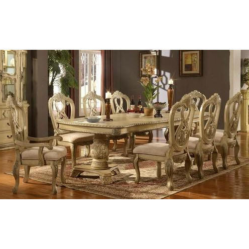 Latest Royal Dining Table Set, Dining Table Set – Shad Handicrafts For Royal Dining Tables (View 3 of 20)