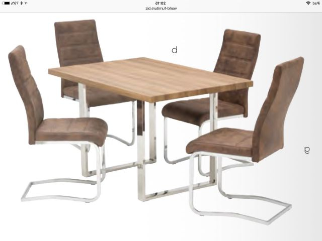 Latest Rustic Oak Dining Tables Within World Furniture Naples French Rustic Oak Or Grey Oak Dining Sets (View 17 of 20)