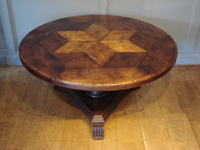 Latest Sold/antique French Circular Oak Centre Table – Antique Dining Tables For Circular Oak Dining Tables (View 12 of 20)