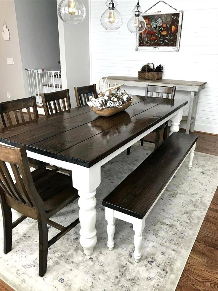 Latest Splendid Style Reclaimed Pallet Wood Dining Table Set House Black Intended For Dining Tables With White Legs And Wooden Top (View 14 of 20)