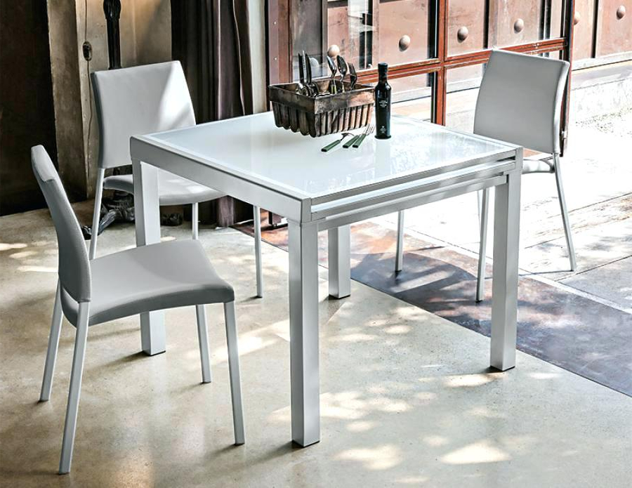 Latest Square Extending Dining Tables Intended For Square Extendable Table – Freeandpowerful (View 12 of 20)