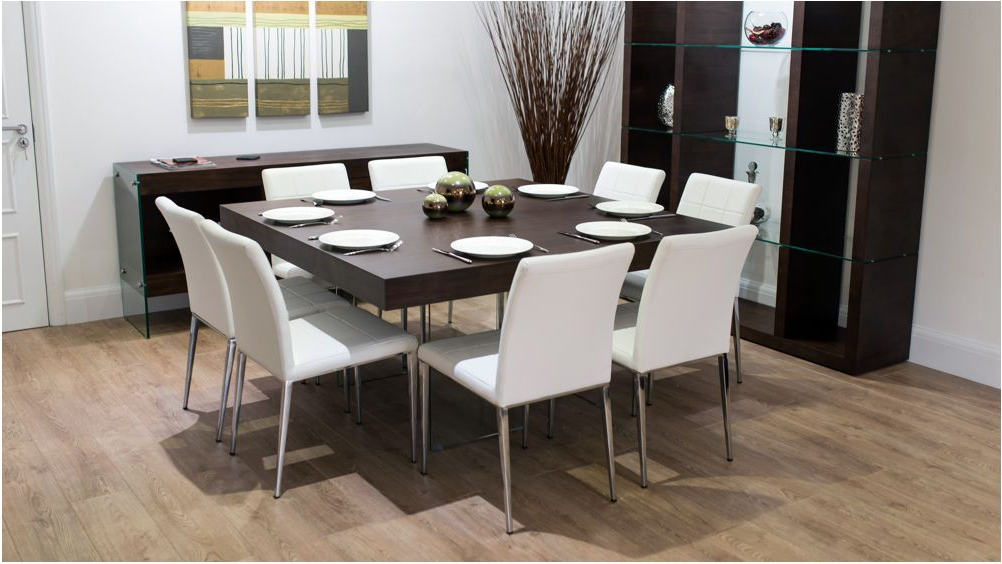 Latest Stunning Large Square Dark Wood Dining Table Glass Legs 6 8 Quilted With Regard To Dark Wood Square Dining Tables (View 6 of 20)