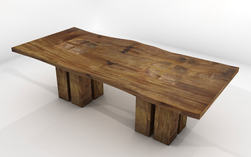 Latest Vela Dining Table – Sustainable Solid Wood Dining Room Furniture Within Solid Wood Dining Tables (View 8 of 20)