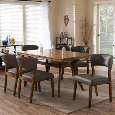 Laurent 7 Piece Counter Sets With Upholstered Counterstools Intended For Most Recent Baxton Studio – Kitchen & Dining Room Furniture – Furniture – The (View 7 of 20)