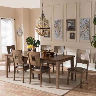 Laurent 7 Piece Counter Sets With Wood Counterstools With Regard To Latest Baxton Studio – Kitchen & Dining Room Furniture – Furniture – The (Gallery 20 of 20)