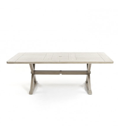 "Laurent Rectangle Dining Tables For 2018 Ebel Portofino 42"" X 84"" Rectangular Dining Table – Weathered (View 9 of 20)"
