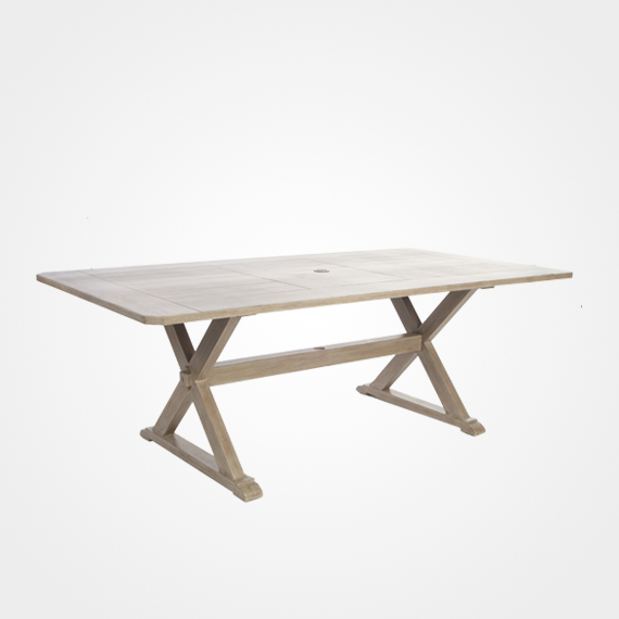Laurent Rectangle Dining Tables Inside Most Recently Released Laurent/portofino Rectangular Dining Table – Outdoor Furniture (Gallery 1 of 20)