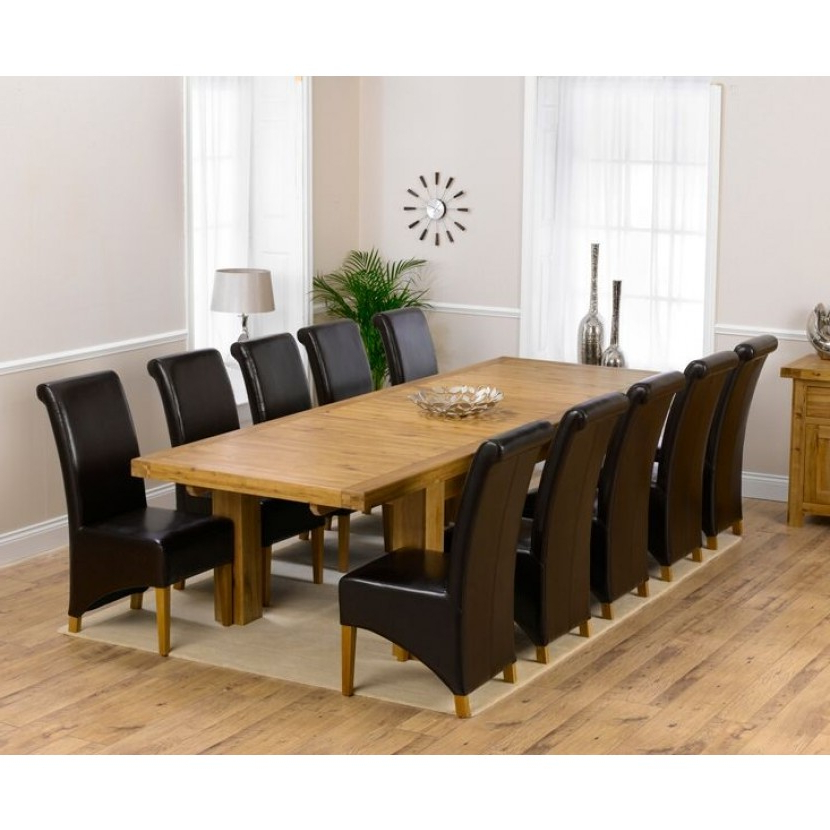 Laurent Rectangle Dining Tables Throughout Popular Mark Harris Laurent Solid Oak 230cm Extending Dining Table (View 18 of 20)