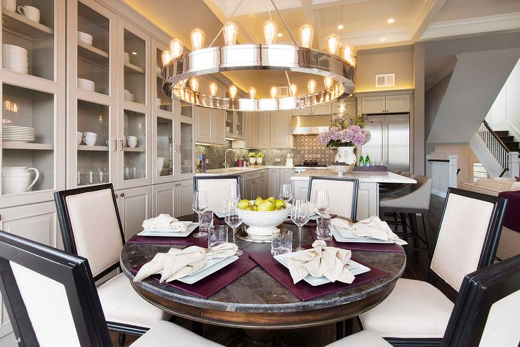 Laurent Round Dining Tables For Popular Round Distressed Dining Table Design Ideas (View 8 of 20)