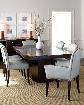Laurent Round Dining Tables With Regard To Most Popular Ralph Lauren Dining Table Ebay (View 11 of 20)