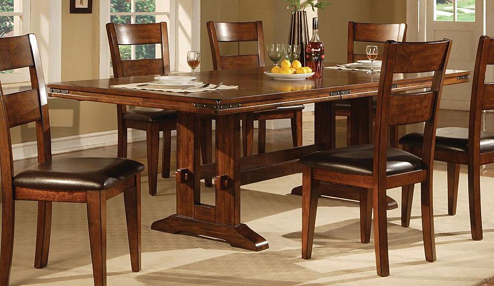 Lavista Dining Table In Dark Oak (Gallery 18 of 20)