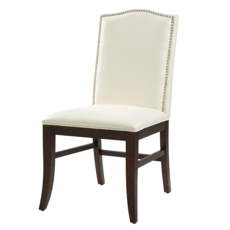 Leather Chairs Throughout Ivory Leather Dining Chairs (View 10 of 20)