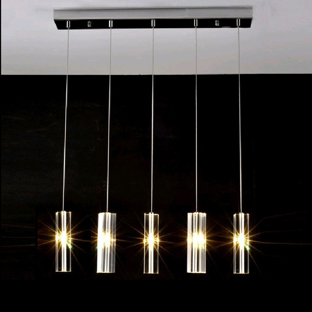 Led Dining Tables Lights Regarding Well Known Hanging Dining Room Lamp Led Pendant Lights Modern Kitchen Lamps (Gallery 7 of 20)