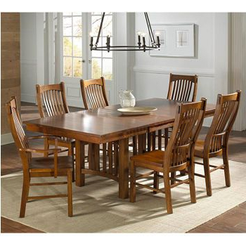 Leon 7 Piece Dining Sets With Most Recent Santeelah 7 Piece Dining Set (View 20 of 20)