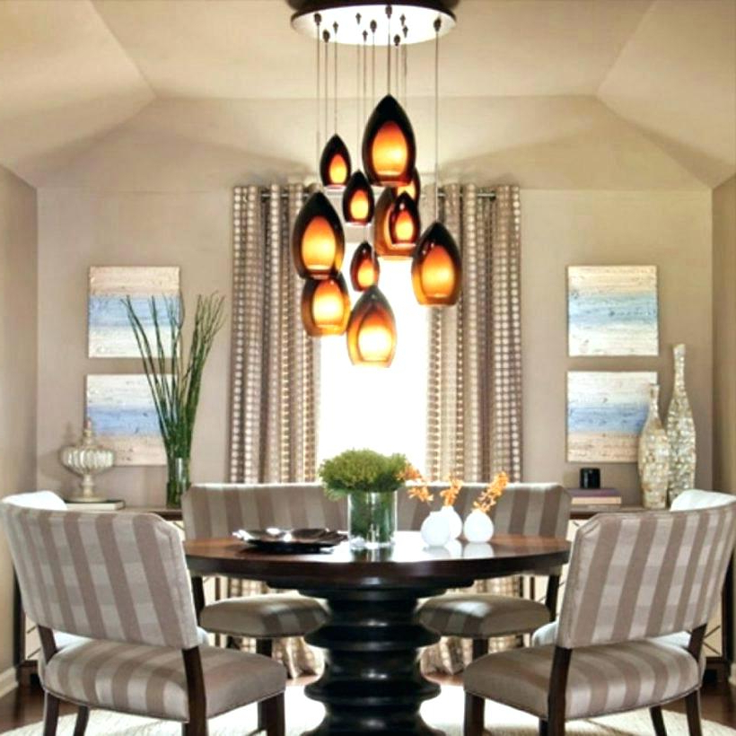 Lighting For Dining Tables Inside Preferred Hanging Lights For Dining Table – E Xost (View 8 of 20)