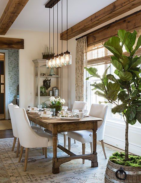 Lights For Dining Tables For Best And Newest Farmhouse Lighting (Gallery 13 of 20)