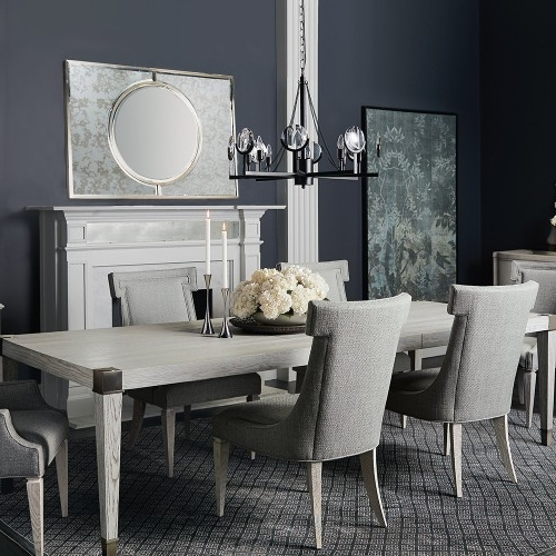 Lindy Dove Grey Side Chairs In Well Liked Domaine Blanc Upholstered Side Chair (Each) In Dove White (View 11 of 20)