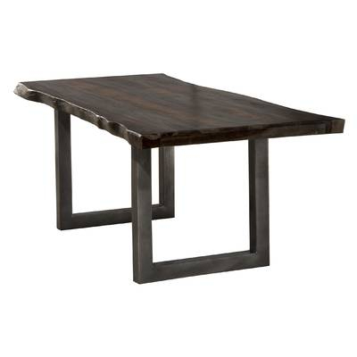 Lindy Espresso Rectangle Dining Tables Inside Popular Brayden Studio Linde Dining Table & Reviews (View 9 of 20)