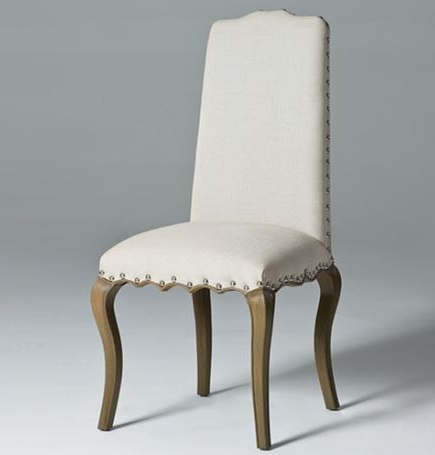 Linen Dining Chair (View 3 of 20)