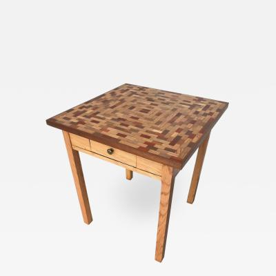Little Parquet Top Game Or Dining Table Pertaining To 2018 Parquet Dining Tables (View 15 of 20)