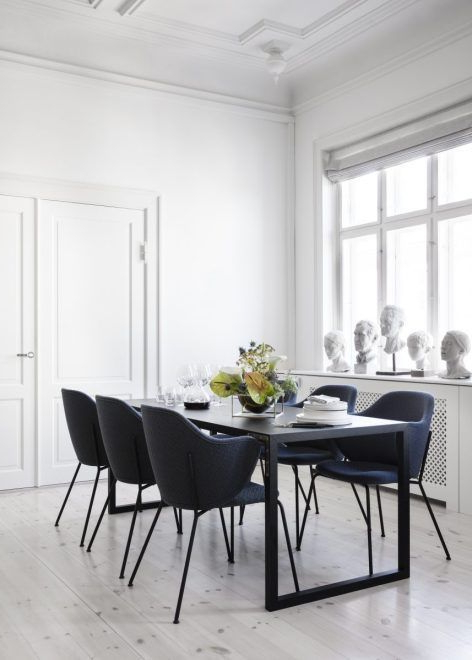 Living Room : Lassen Chair In New Finishes Via Coco Lapine Design With Regard To 2018 Lassen Round Dining Tables (View 12 of 20)