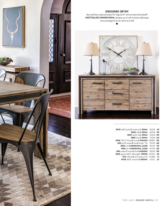 Living Spaces – Fall 2017 – Amos Extension Dining Table Inside Trendy Amos Extension Dining Tables (Gallery 6 of 20)