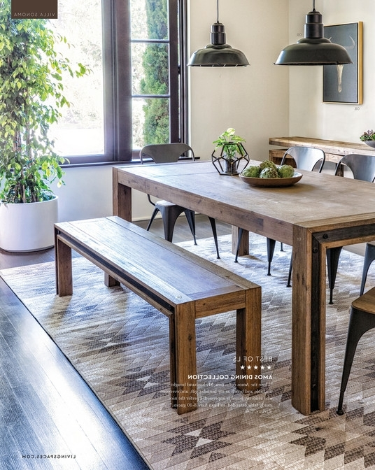 Living Spaces – Fall 2017 – Amos Extension Dining Table Throughout Widely Used Amos Extension Dining Tables (Gallery 1 of 20)