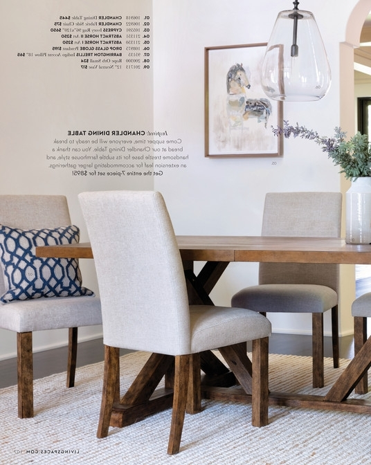 Living Spaces – Fall 2017 – Chandler Extension Dining Table Intended For Most Up To Date Chandler Extension Dining Tables (Gallery 2 of 20)