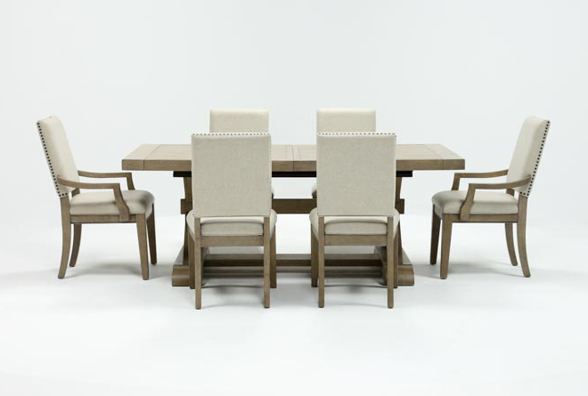 Living Spaces For Most Popular Walden 9 Piece Extension Dining Sets (View 6 of 20)