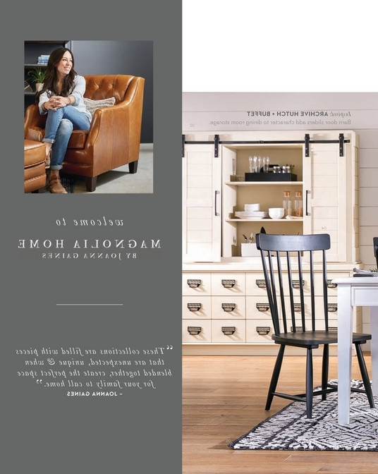 Living Spaces – Spring 2018 – Magnolia Home Harper Chimney Side With Regard To Widely Used Magnolia Home Harper Patina Side Chairs (View 13 of 20)